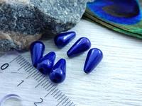 Heijastava helmi, 10x6mm, sininen, 1kpl