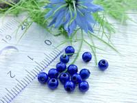Heijastava helmi, 4mm, sininen, 1kpl