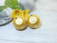 Heijastava helmi, 18mm, keltainen, 1kpl