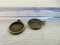 Kapussi pohja, 12mm, pronssi, 1kpl