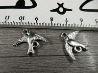 Linturiipus/linkki, 22x17mm, kromi, 1kpl