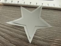 Heijastava kuva tähti, 5x5cm, 1kpl
