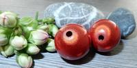 Heijastava helmi, 20mm, punainen, 1kpl