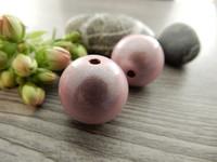 Heijastava helmi, 20mm, vaaleanpunainen, 1kpl