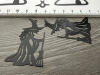 Noitariipus, 33x50mm, musta, 1kpl