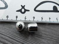 Kalotti, 11x10mm, kromi, 1kpl