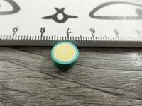 Fimohelmi, 10mm, limetti, 1kpl