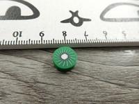 Fimohelmi, 10mm, kiivi, 1kpl