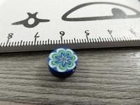 Fimohelmi, 10mm, kukka, 1kpl