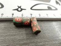 Fimohelmi, 16x7mm, kukkia, 1kpl