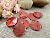Simpukkariipus, 16mm, punainen, 1kpl