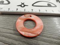 Helmiäinenriipus, 29mm, punertava, 1kpl