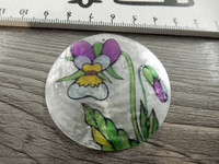 Simpukkariipus, 50mm, kukka, 1kpl