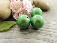 Heijastava helmi, 14mm, vihreä, 1kpl