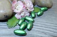 Heijastava helmi, 6x12mm, vihreä, 1kpl