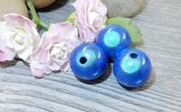 Heijastava helmi, 12mm, sininen, 1kpl