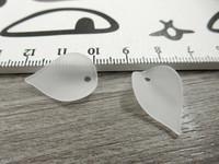 Lehtiriipus, 14x20mm, valkoinen, 1kpl