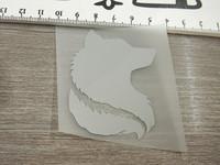 Heijastava kuva susi, 4.5x6cm, 1kpl