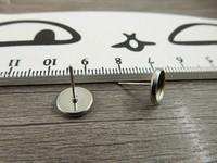 Korvakorutappi kapussille, 8mm, rst, 1pari