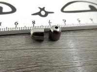 Kalotti, 8x7mm, gunmetal, 1kpl