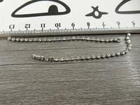 Timanttiketjuriipus, 75x3mm, kromi, 1kpl