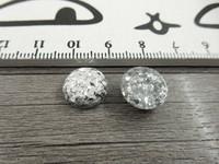 Kapussi kimalle, 12mm, hopea, 1kpl