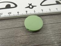 Puuhelmi, 20mm, vaaleanvihreä, 1kpl