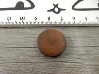Puuhelmi, 20mm, tummanruskea, 1kpl
