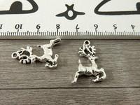 Peurariipus, 17x11mm, kromi, 1kpl