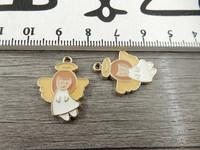 Enkeliriipus, 23x17mm, valkoinen, 1kpl