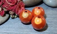 Heijastava helmi, 14mm, oranssi, 1kpl