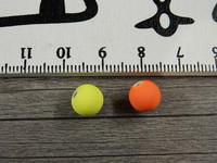 Akryylihelmi, 8mm, mattamix, 20kpl
