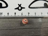 Fimohelmi, 8mm, kukka,1kpl