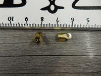 Nauhanpääte 9x4mm, kulta, 20kpl