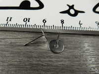 Korvakorutappi, 8x12mm, rst, 5 paria