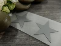 Heijastava kuva tähti, 2.5x2.5cm, 1kpl