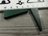 Kartio puuriipus, 40x14mm, tummanvihreä, 1kpl