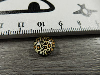 Kapussi eläinkuvio, 10mm, ruskea, 1kpl