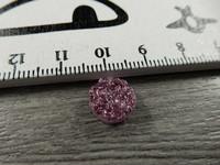 Kapussi rösöpinta, 10mm, pinkki, 1kpl
