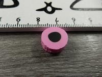 Fimohelmi, n.12mm, pinkkilaku, 1kpl
