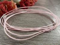 Vahattu nauha, 1mm, vaaleanpunainen, 1m