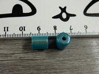 Heijastava helmi, 8x10mm, turkoosi, 1kpl