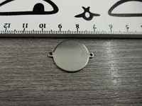 Ympyräriipus, 25x20mm, rst, 1kpl
