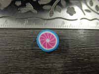 Fimohelmi, 10mm, sininen/pinkki 1kpl