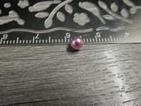 Akryylihelmi, 4mm, liila, 50kpl