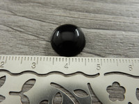 Kapussi, 12mm, musta, 1kpl