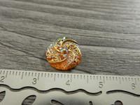Kapussi pyörre, 12mm, moniväri/oranssi, 1kpl