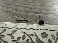 Korvakorutappi lenkillä, 5x13mm, rst, 5paria