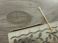 Linkkiriipus, 35x1mm, vaaleakulta, 1kpl