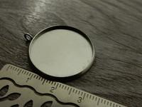 Kapussipohja, 25mm, rst, 1kpl